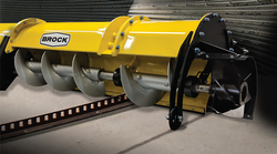 Brock's 3500 Series Commercial Sweeps can withstand grain loads of nearly 2 million bushels (50,800 metric tons).